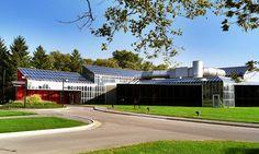 Cumminsoccupationalhealth - Hardy Holzman Pfeiffer Associates designed the facility in 1973