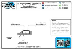 Coil SubHarness Wiring Orientation For all LS1, LS2, LS3