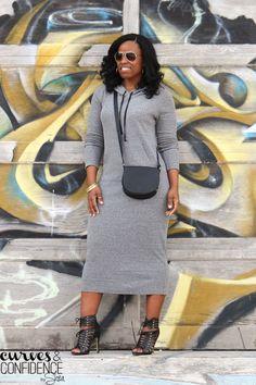 Weekend Wear: Hooded Maxi Dress