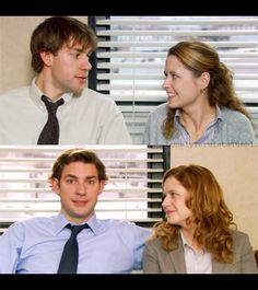 Jim and Pam through the years       Jim & Pam: Season 1 vs Season 6