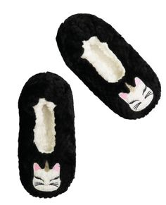 3bed14744a Women s Cute Caticorn Patch Quilted Slipper Sock
