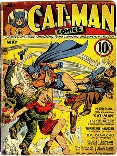 Cat Man No 1 Comic Cover
