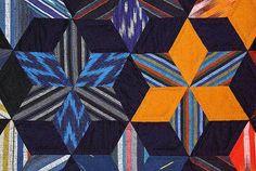 081104_153 « Etoiles immobiles » – Quilt en tissus japonais