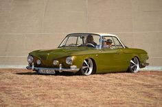 VW Type 3 Ghia. This is such an amazing car. I love the front end.