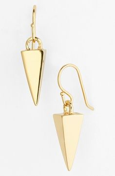 Free shipping and returns on Melinda Maria Pyramid Drop Earrings at Nordstrom.com. Mid-sized pyramid studs add a modern pop to a pair of versatile drop earrings.