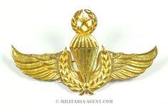 Parachute wings-Indonesia(Air Force Senior)