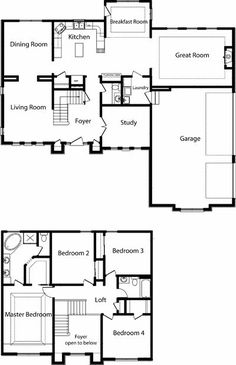 2 story polebarn house plans | TWO STORY HOME FLOOR PLANS by amchism