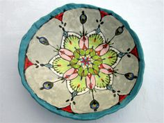 Flower bowl - Maureen Visagé http://www.maureenvisage.co.za/