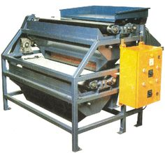 High Intensity Double Roller Type Magnetic Separator