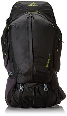 bf180cb3ea52 Gregory Mountain Products Baltoro 75 Goal Zero Backpack Volt Black Large      Read more