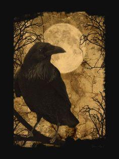 """""""Silence"""", par Edgar Allan Poe, """"Nouvelles Histoires Extraordinaires"""", traduction Charles Baudelaire.  Écoutez-moi, — dit le Démon, en pla..."""