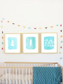 Birds Collection Set of 3 by Children Inspire Design at Gilt