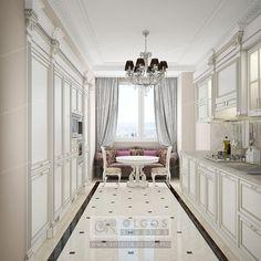 Antique Kitchen Interior Design Idea