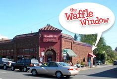 The Waffle Window - A waffle restaurant in Portland, OR that I really want to try :)