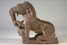 Imaginary animal  Place of Origin: Northern India  Date: 900-1200  Materials: sandstone
