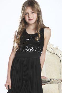 23a027b143be Sara Sara Racer Back Sequin Dress with Pleated Skirt, $79.00 Sequin Dress,  Tween,