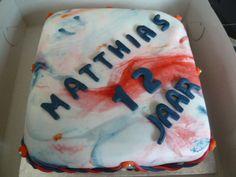 leeftijdstaart Birthday Cake, Desserts, Food, Tailgate Desserts, Birthday Cakes, Deserts, Eten, Postres, Dessert