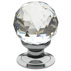 Baldwin Crystal Inch Diameter Round Cabinet Knob from the Estate Co Polished Brass Cabinet Hardware Knobs Round Crystal Knobs, Crystal Rhinestone, Swarovski Crystals, Crystal Sphere, Faceted Crystal, Brass Cabinet Hardware, Cabinet Knobs, Knobs And Handles, Knobs And Pulls