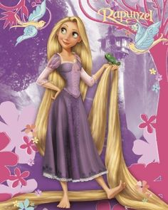 Disney princesas rapunzel - Imagui