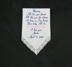 Mother of the Bride embroidered Custom wedding by NapaEmbroidery