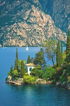 Villa on Lake Garda, Near Nago–Torbole, Italy.  Been there, Done that!