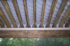 Southeastern Michigan Under Deck Drainage System by GM Construction in Howell, MI Roof Design, Deck Design, Under Deck Roofing, Under Deck Drainage System, Under Deck Storage, Outdoor Storage, Under Deck Ceiling, Under Decks, Deck Construction