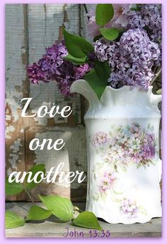 By this everyone will know that you are my disciples, if you love one another. John 13:35