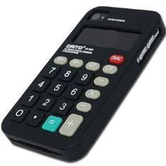 Black FlashBacks Old School Retro Calculator Silicone Case Cover for AT Verizon Apple Iphone 4 4G 4GS S
