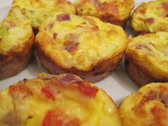 Mini Crustless Quiches - a Slimming World recipe Slimming Recipes, Skinny Recipes, Low Carb Recipes, Cooking Recipes, Skinny Meals, Crustless Quiche Slimming World, Slimmers World Recipes, Slimming World Free, Slimming Workd