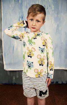 Stripe AOP Swimshorts - Mini Rodini - Kids Online - Baby, Kids & Teens Webshop - Goldfish Kids Web Store - Mechelen Kinderkleding