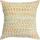 Found it at Wayfair - Creamsicle Handcrafted Cotton Throw Pillow