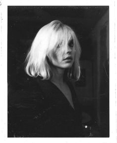 """Debbie Harry by Julia Gorton, late 70's. """