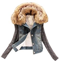 BU2H Men Winter Thermal Thicken Hooded Quilted Camo Long Faux Fur Collar Parka