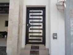 Resultado de imagen para puerta de herreria minimalista