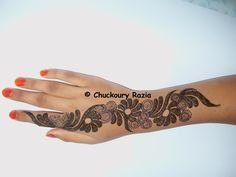Gulf style henna