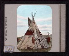 Blackfoot Decorated Tipis c.1900 | Retronaut