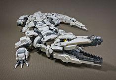 This LEGO crocodile might be Mitsuru Nikaido's best mech yet.