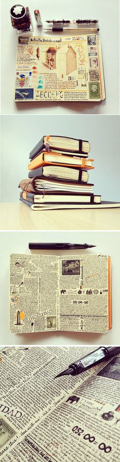 The Journal Diaries - JOSE'S MOLESKINE    http://www.seaweedkisses.com/2014/07/the-journal-diaries-joses-moleskine.html