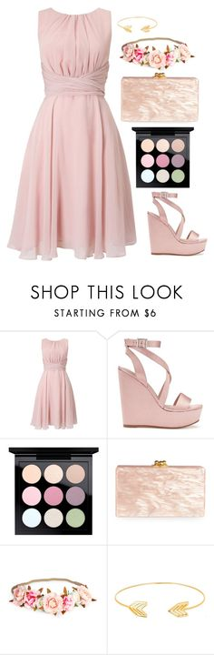 """Untitled #508"" by alibasicamina ❤ liked on Polyvore featuring Phase Eight, Miss Selfridge, MAC Cosmetics, Edie Parker and Lord & Taylor"