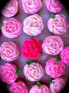 here's how the frosting will be on the cupcakes, but there will be an rainbow of colors:)