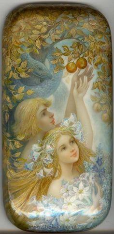 """""""Adam and Eva"""" par Nadia Strelkina"""