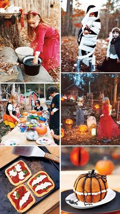 Halloween Kids Party Ideas #EviteGatherings