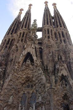Love Goudy's work. This church is amazing is Barcelona :) ever go to Spain people go see his work