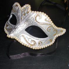 Silver Masquerade Masks | Silver Masquerade Mask | Flickr - Photo Sharing!