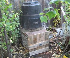 Vertical 2 stage composter  - tutorial