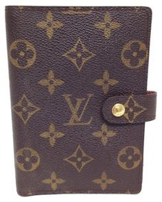 8b8213eed882 Louis Vuitton Louis Vuitton  5027 monogram 6 Ring agenda pm check book  wallet holder card