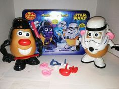Mr. Potato Head Star Wars Collectors Set In Collectable Tin Container  #Hasbro