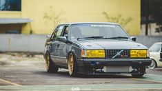 Euro Retro Enthusiast: May Morning Meet at Tuner Cars, Jdm Cars, Volvo 440, Volvo Cars, Custom Cars, Cars And Motorcycles, Race Cars, Automobile, Retro