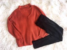 You don't need a costume to be in the Halloween Spirit  Cherokee Sweater Lucy Leggings