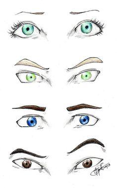 Shatter Me eyes by chrysalisgrey on DeviantArt   Juliette's, Warner's, Adam's and Kenji's eyes